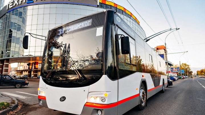 33 новых омских троллейбуса обойдутся бюджету почти в миллиард рублей