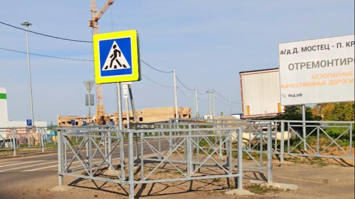 «Дошли до безумия»: ярославцев возмутил перезаборенный перекрёсток. Фото