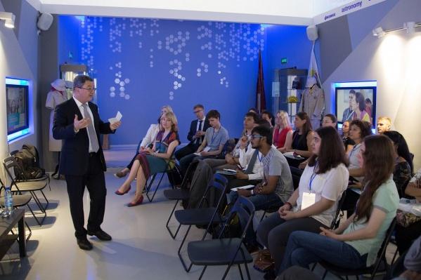 В этом году в летней школе приняли участие студенты из 10 стран
