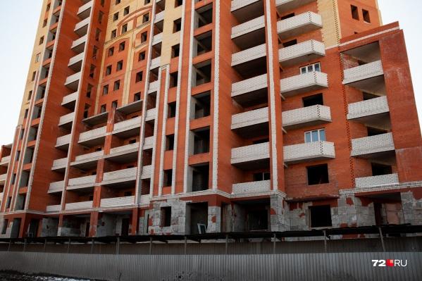 Здание признали самостроем в прошлом году