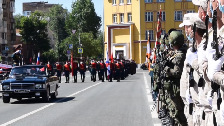 Видео: как в Самаре прошла генеральная репетиция парада Победы