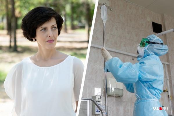 Елена Симакова ощущает себя так, будто живет в двух параллельных мирах