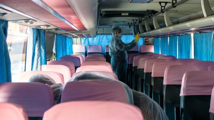 Из Челябинска прекратили ездить автобусы в другие регионы