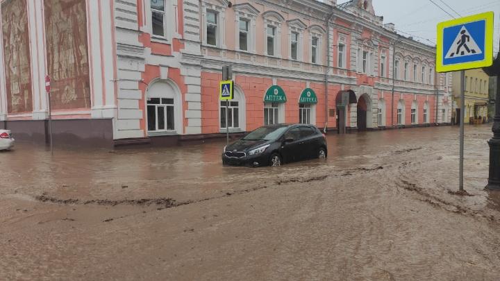 На 9 Мая в Нижнем Новгороде прогнозируют дожди: следим за ситуацией с потопом онлайн