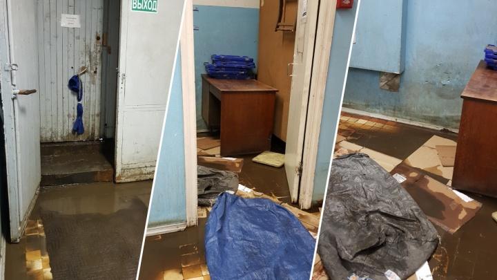 «Приходится дышать плесенью»: посетители «Почты России» в Ярославле показали, как затопило отделение
