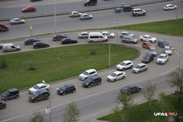 Чтобы проехать по городу на машине, нужно зарегистрироваться на портале «Дорога02»