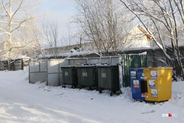 Архангельский мусороперерабатывающий комбинат заявил, что уберет контейнеры для раздельного сбора отходов с улиц Архангельска и Новодвинска