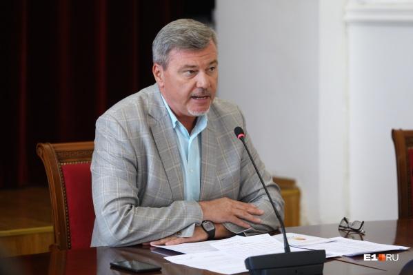 Дмитрий Баранов работал заместителем главы Екатеринбурга с конца 2018 года