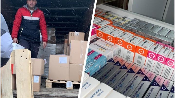 В Новосибирск привезли 19 тысяч упаковок необходимых при ковиде антибиотиков