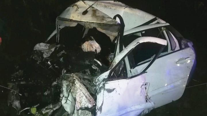 На трассе в Прикамье в аварии погибли два человека