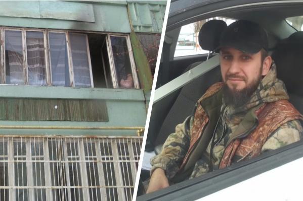 Александр приехал в Екатеринбург из Набережных Челнов