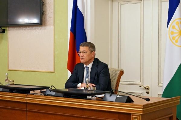 Хабиров участвовал в заседании, где присутствовали чиновники со всей России