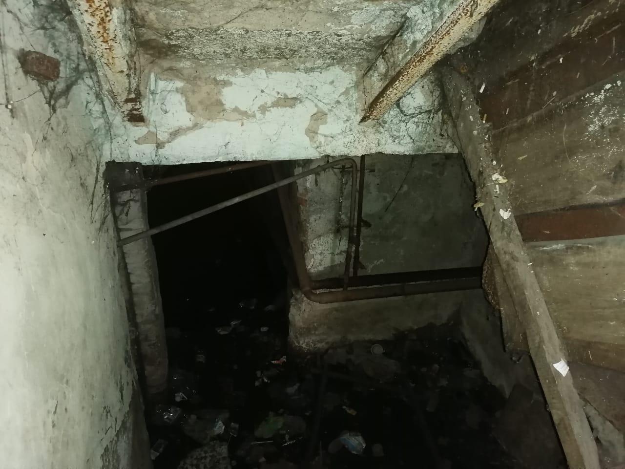 В подвале дома — воды по щиколотку