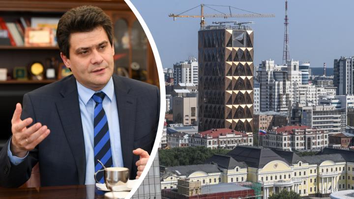 Мэр Екатеринбурга заявил, что плотность застройки в городе увеличат на 7–12%