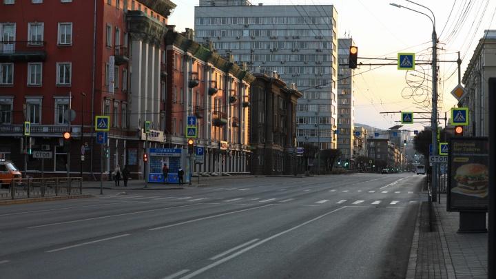Немноголюдный Красноярск: смотрим на город в третий день карантина