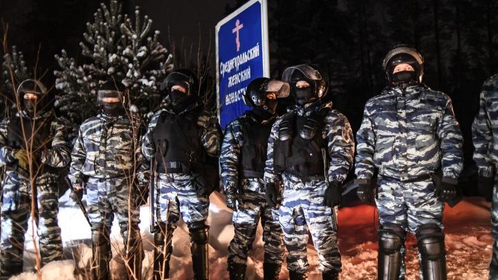 Сторонники экс-схиигумена Сергия готовятся к новому штурму Среднеуральского монастыря