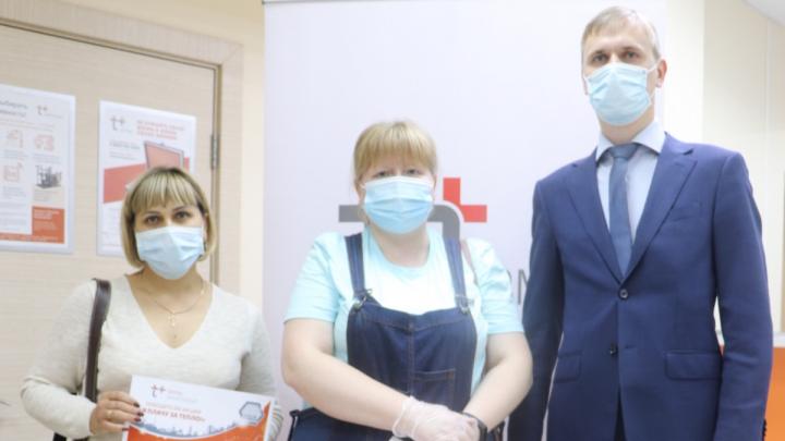 «ЭнергосбыТ Плюс» наградил первых победителей акции «Я плачу за тепло!» в Перми