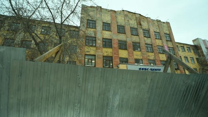 Полиция отказалась возбуждать дело из-за сноса конструктивистского здания на Нагорной