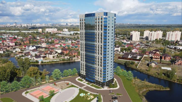 В Волгаре начали строить новый жилой комплекс «Артхолл» с видовыми квартирами