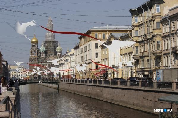 Самым популярным городом у новосибирцев стал Санкт-Петербург