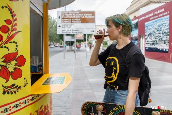 Квас можно пить без ограничений и паспорта