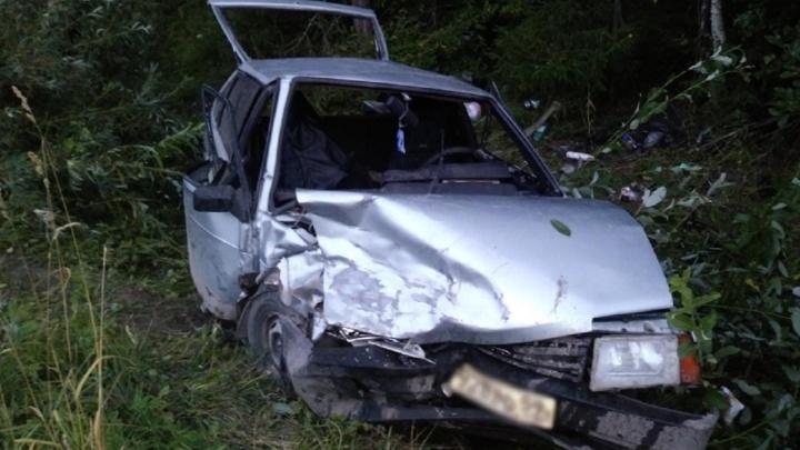 В Прикамье в ДТП на трассе пострадали два человека