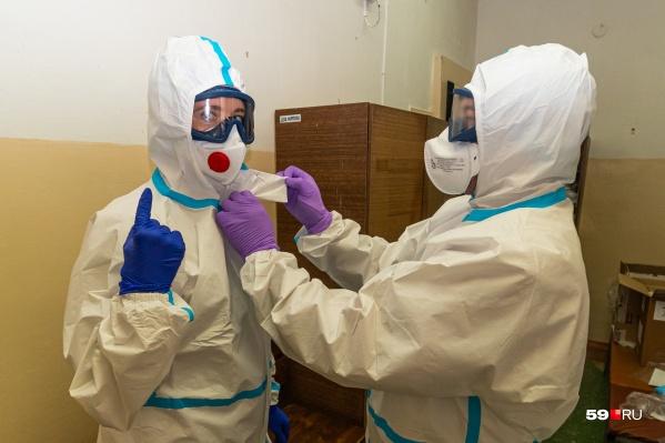 Так мы готовились к экскурсии по инфекционному отделению. Дальше больше интересных фото