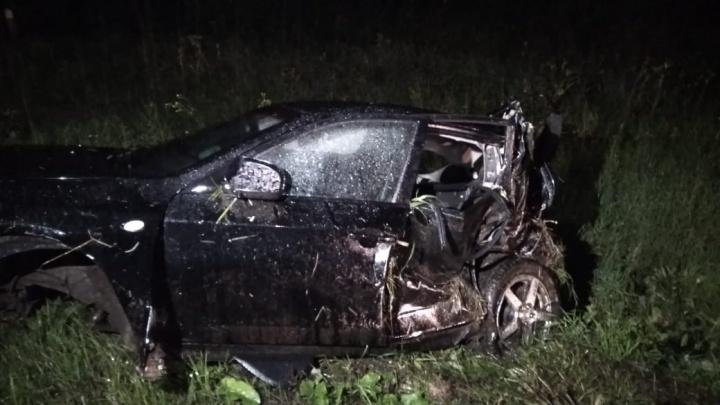 Водитель выжил чудом: подробности аварии, где Subaru несколько раз перевернулась