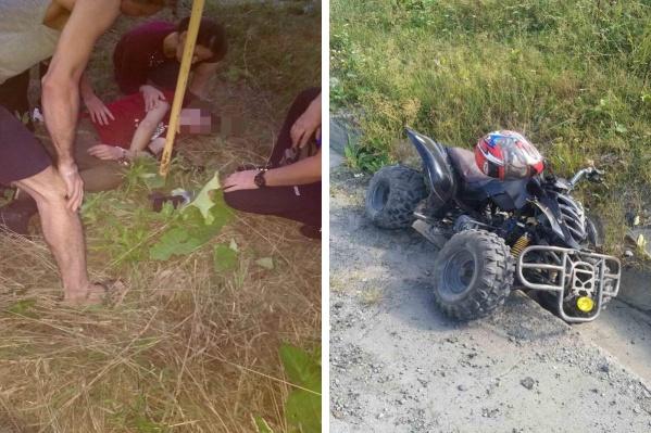 На тюменских дорогах двое детей оказались за рулем и устроили аварии: в Мальково 15-летний мальчик на мотоцикле врезался в опору дорожного знака. Апод Тобольском мальчик на квадроцикле сбил пешехода
