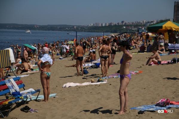 Август будет жарче, чем обычно. Все на пляж!