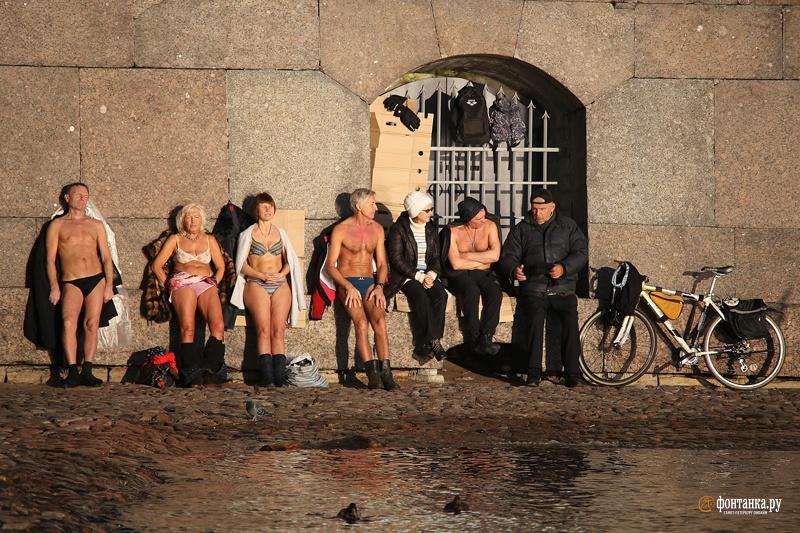 К концу января можно было насладиться несколькими по-весеннему солнечными днями. Санкт-Петербург, 22 января 2020 года
