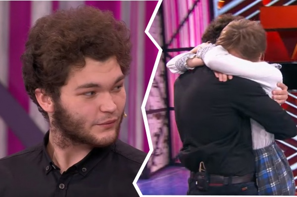 В финале шоу Даниил встретился с любимой девушкой