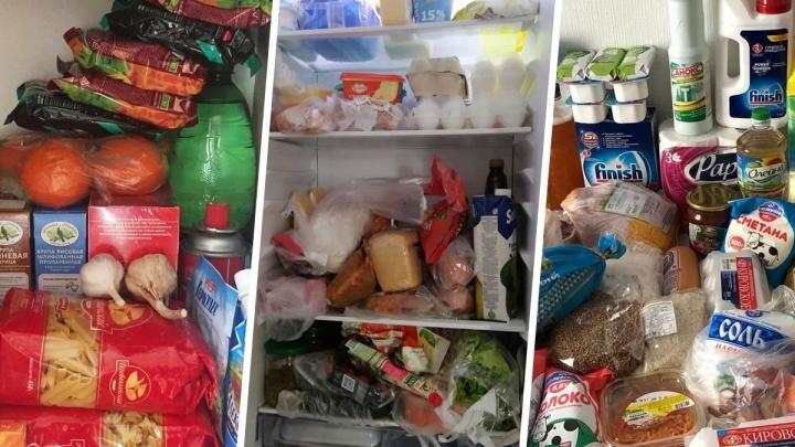 Что тут у нас, гречка? Разглядываем запасы еды в холодильниках екатеринбуржцев