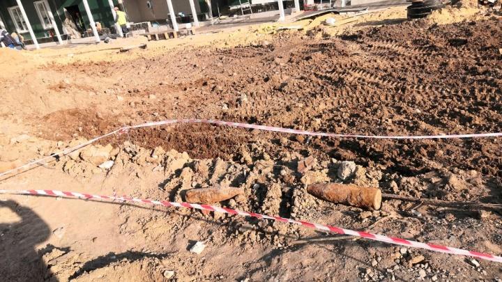 В Волгограде у госпиталя Минобороны РФ для больных коронавирусом нашли снаряды