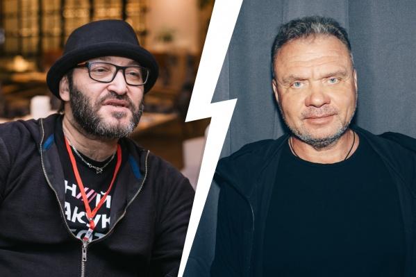 Миша Козырев (слева) и Игорь Мишин поспорили о «Доме-2»