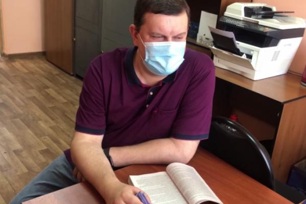 Димитрий Маслодудов дает показания