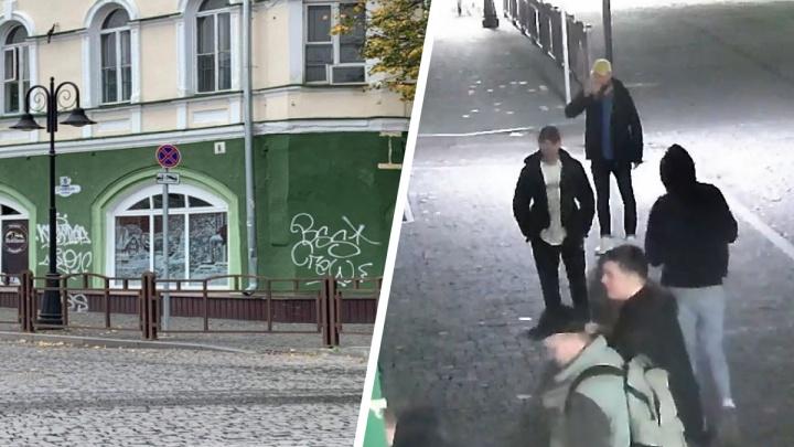 «Покусились на прекрасный город»: центр Рыбинска измалевали жуткими граффити