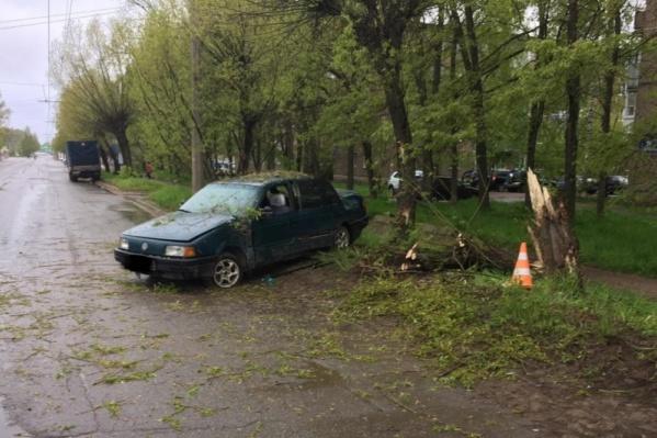 ДТП произошло на улице 50 лет ВЛКСМ в Рыбинске