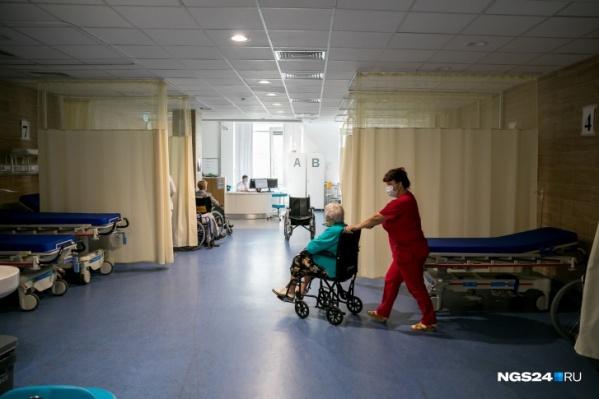 В крае растет число свободных коек для пациентов с ковидом