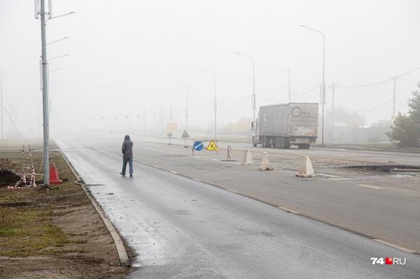 Переход начали делать на пересечении Наркома Малышева и Университетской Набережной
