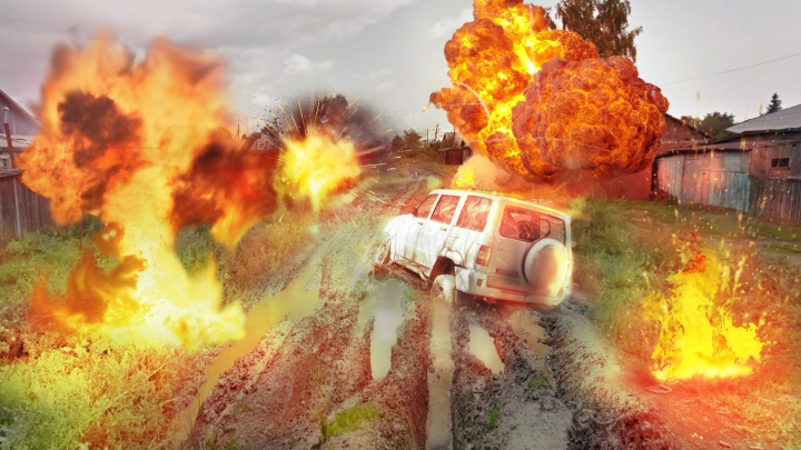 Бешеные ямы, как после бомбёжки: читатели НГС назвали 9 проблемных дорог Новосибирска