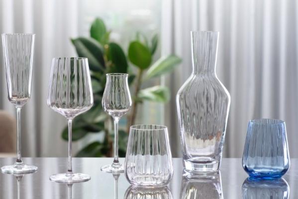 Коллекцию дизайнерских бокалов от итальянского бренда можно купить во всех магазинах «Пятёрочка»