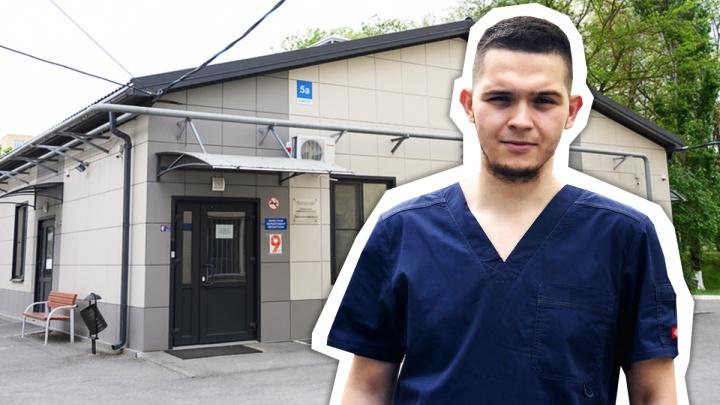 12 часов в «красной зоне»: ростовский студент — о работе в ковидном госпитале