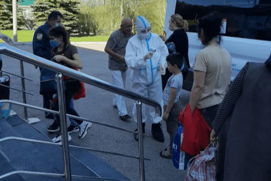 14 жителей Башкирии, прилетевших из Таджикистана, отправили на карантин в «Юматово»
