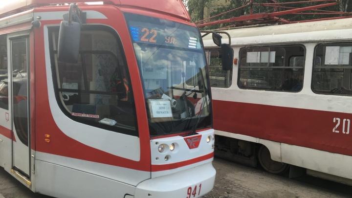 Стало известно, как будут ездить трамваи из-за закрытия Ново-Садовой