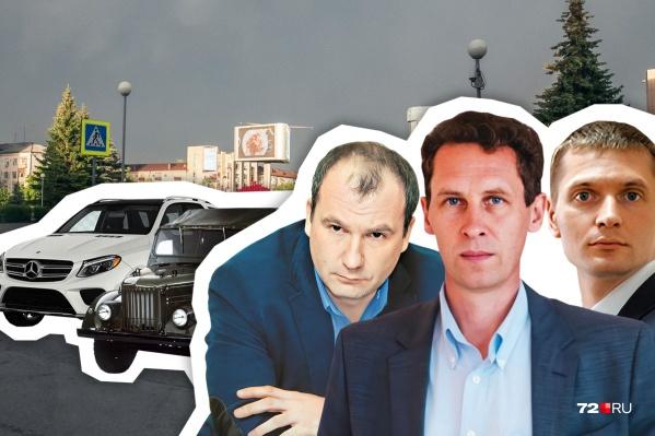 Сергей Шустов, глава ГУСа (в центре) за год зарабатывает больше, чем губернатор. Как вам такой поворот? Пишите в комментариях