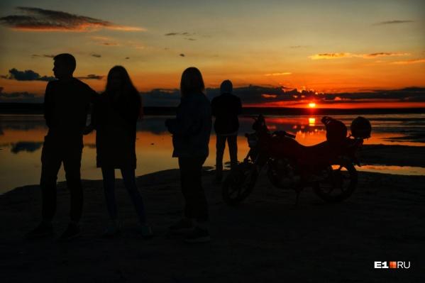Золотисто-красные закаты — самые прекрасные