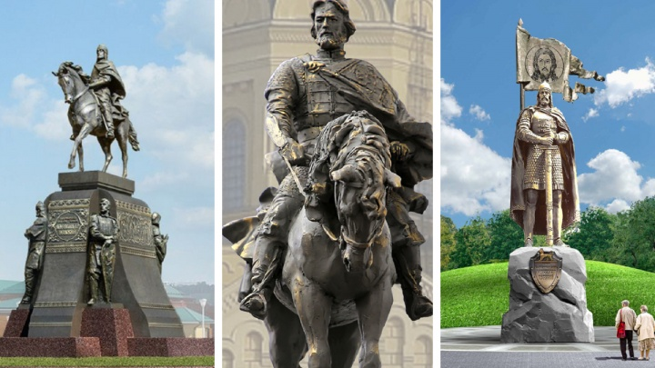 Какой Невский вам по вкусу? Голосуем за вид нового памятника в Нижнем Новгороде