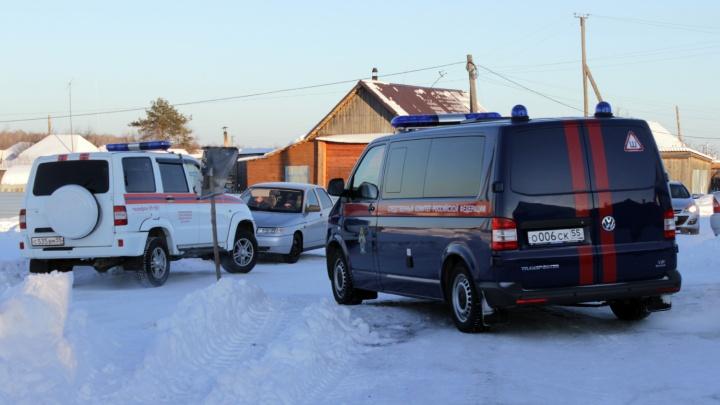 В Больших Уках сгорел частный дом— погибла женщина с двумя детьми