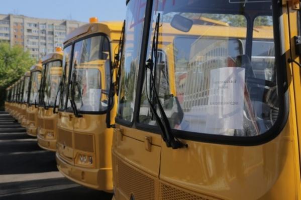 В последнее время школьные автобусы закупаются на заводе «Павловский автобус», это одни из них, переданный в 2019 году